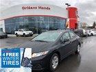2013 Honda Civic LX, HEATED SEATS, BLUETOOTH, HANDS FREE CAPABILIT OFF LEASE ,CLEAN CAR!!