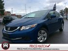 2014 Honda Civic LX  HEATED SEATS  BLUETOOTH  LOW KMS