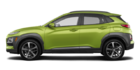 Hyundai Kona ULTIMATE Noir avec garnitures lime 2019