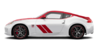 2020 Nissan 370Z Coupe 50th Anniversary Edition Pearl White/Solid Red
