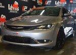 Chrysler 200 Limited GROUPE CONFORT CAMÉRA DE RECUL 2016 LÉVIS CHRYSLER, PAS AILLEURS!