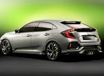 Here Is the New 2017 Honda Civic Hatchback