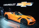 The Chevrolet Corvette ZR1 lights up the L.A. Auto Show