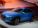 The Hyundai Kona shown for the first time in North America in Los Angeles
