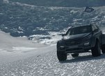Santa Fe, premier véhicule à traverser l'Antartique