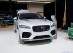 The 2019 Jaguar F-Pace is at the Montreal Auto Show
