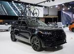 The Range Rover Velar Featured At The Montreal Auto Show
