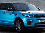 New 2018 Range Rover Evoque Gets New Engine and More Power