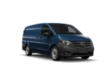 The three types of Mercedes-Benz Vans.