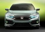 La Honda Civic à hayon 2017 s'approche de Laval