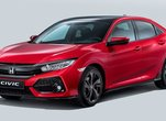 La Honda Civic Hatchback 2017 en cinq points