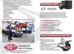 Jonker Nissan Parts & Service Department