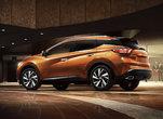 Le Derrière d'un Nissan Murano orange