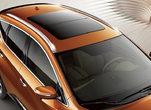 LeToit panoramique d'un Murano orange de l'extérieur