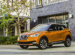 Nissan Kicks 2018 orange