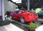 Mazda6 2014 rouge au salon de l'auto