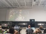Movie Night Fun for Our Staff in the Brand New Shop Facility