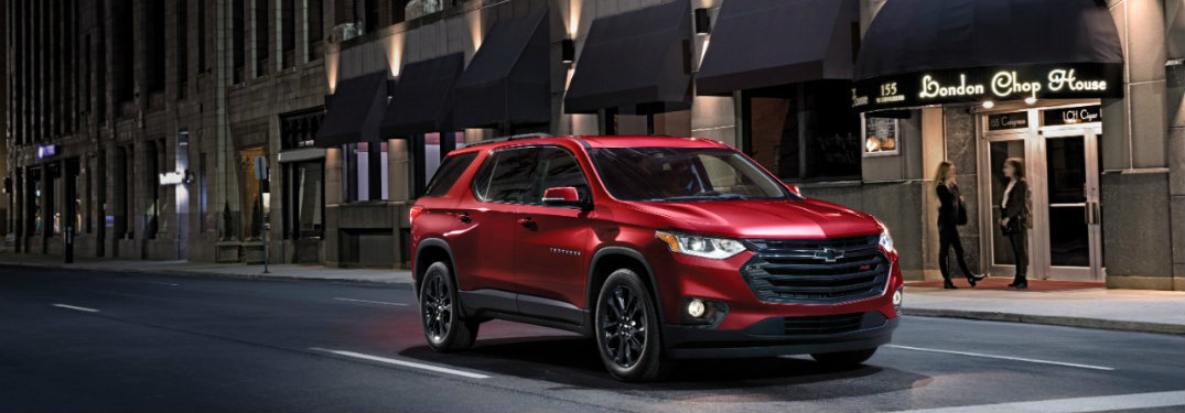 2019 Chevy Traverse Engine Performance
