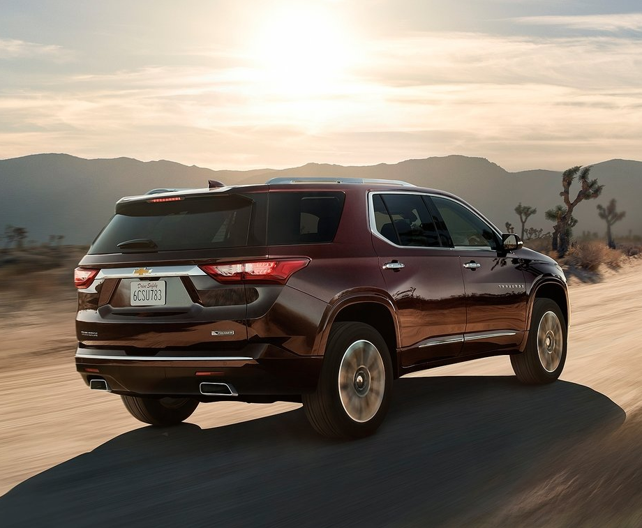 How Much Can You Fit Inside the New 2019 Chevrolet Traverseé