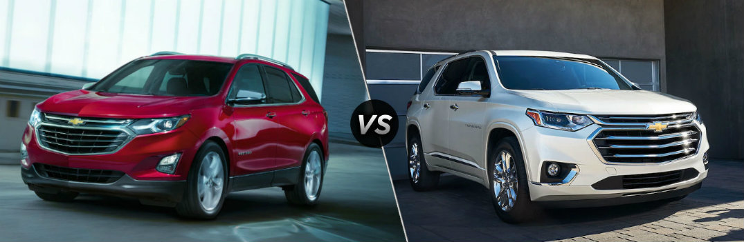 What's the Difference Between the 2019 Chevy Equinox and Traverse?