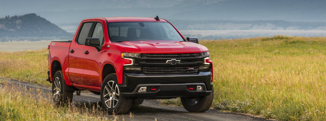 What Are the Color Options for the 2019 Chevy Silverado?