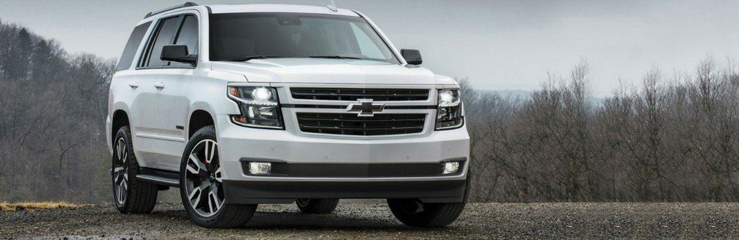 2018 Chevy Tahoe Color Options