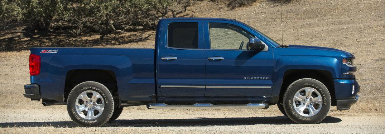 Chevrolet Silverado Winter Handling