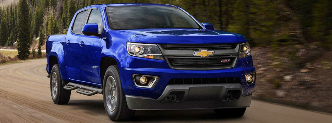 What Trims Are Available on the 2017 Chevy Colorado?