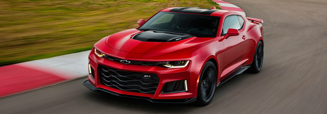 What's Inside the 2017 Chevy Camaro?