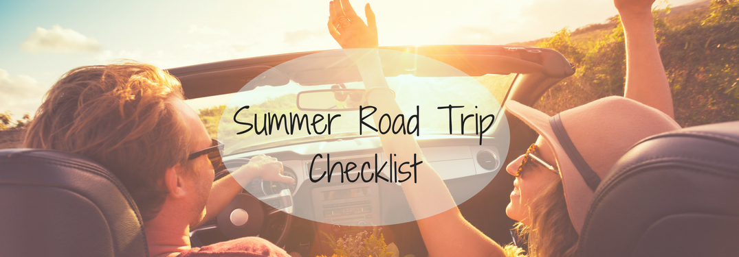 Use This Car Packing Checklist Before Your Next Road Trip!