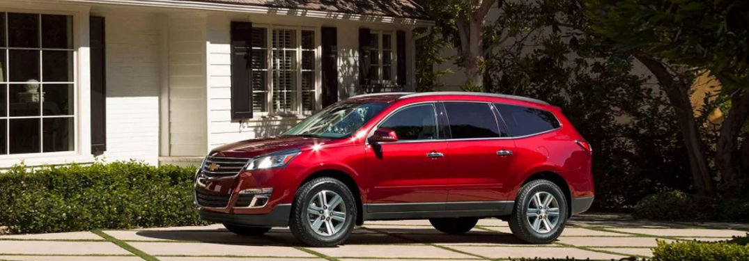 How Much Room Is in the 2017 Chevy Traverse?