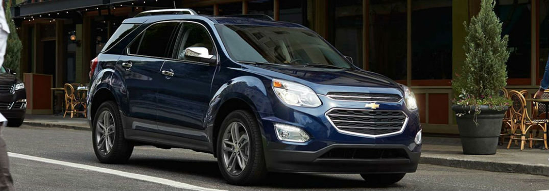 Check out the Available Colours on the 2017 Equinox!