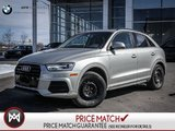 2016 Audi Q3 AWD, LOW KMS, KOMFORT