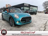 MINI Cooper Convertible CHESTER LEATHER CARIBBEAN AQUA AUTO CONVERTIBLE 2017