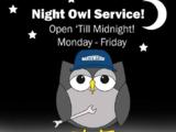 Late Night Service