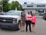 We keep coming back!, Bruce Chevrolet Buick GMC Middleton