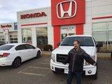 Great Place to Buy a New Vehicle, Bruce Honda
