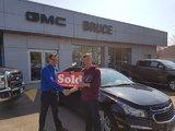 Travelled From Borden, ON, Bruce Chevrolet Buick GMC Middleton