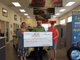 Bruce Honda Donates to Canadian Cancer Society