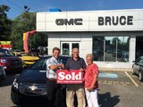 Thanks for Good Service, Bruce Chevrolet Buick GMC Middleton