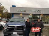 Great Service. Thanks!, Bruce Chevrolet Buick GMC Middleton