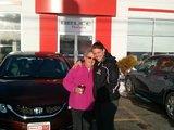 Best sales experience, Bruce Honda