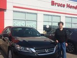 A very easy transaction, Bruce Honda
