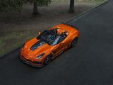 The Chevrolet Corvette ZR1 lights up the L.A. Auto Show