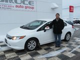 A happy customer!, Bruce Honda