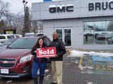 Very pleased, Bruce Chevrolet Buick GMC Middleton