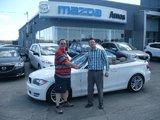 Bonjour, Je cherche une BMW 128I blanche!, Amos Mazda