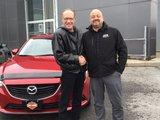 Félicitations à M. Lehoullier pour l'acquisition de votre nouvelle Mazda, Chambly Mazda