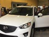 Chambly Mazda félicite Mme Liliane Fredette et M. Jean Perrotte pour l'acquisition de leur nouvelle Mazda CX5 et les remercient pour leur confiance., Chambly Mazda