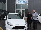 Félicitations madame Hamelin pour votre nouvelle Fiesta ST, Chambly Mazda